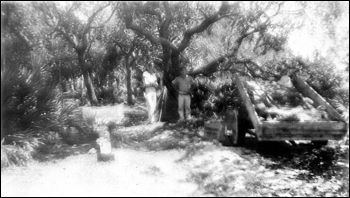 Excavation at Tower Mound: Saint Marks National Wildlife refuge, Florida (1937)