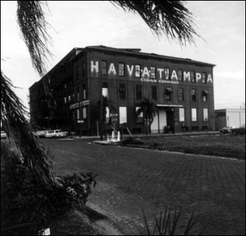 Cigar company in Ybor City: Tampa, Florida (1972)