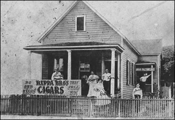 Rippa Bro's Cigars store and cigar factory (190-)