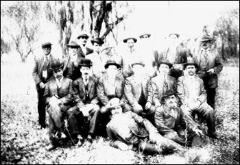 Picnic for cigar foreman at Sixmile Creek (ca. 1910)