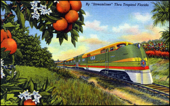 By streamliner thru tropical Florida (1948)