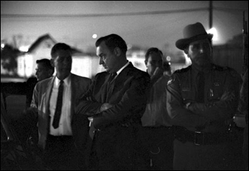 Governor Claude Kirk during Tallahassee riots following the assassination of Dr. Martin Luther King, Jr. (April 4, 1968)