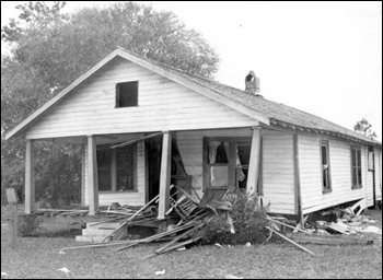 Bombing of home of NAACP member: Mims, Florida (December 25, 1951)