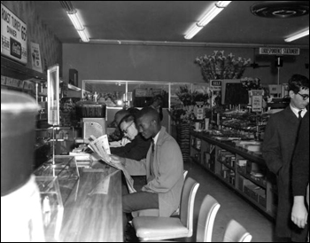 Sit-in at Woolworth's lunch counter: Tallahassee, Florida (March 13, 1960)