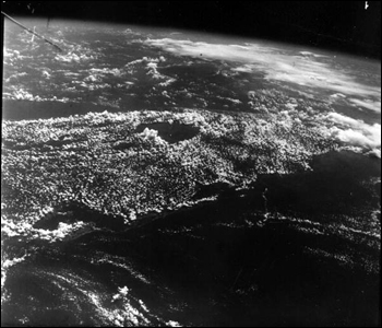 View of Florida from orbit (1966)