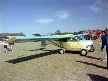 Aerocar on display at the EAA Fly-in: Lakeland, Florida (1990)