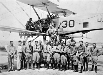 Pilots at Pensacola Naval Air Station: Pensacola, Florida (1921)