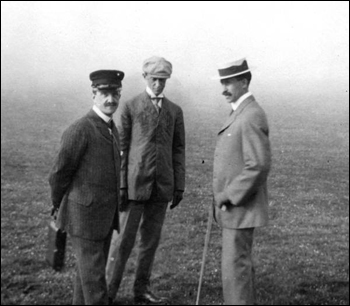 Day of Griscom's flight with Wilbur Wright flying the plane (1909)