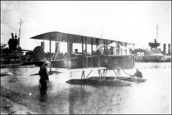 Wright experimental seaplane with a Wright 60 h.p. engine: Pensacola, Florida (1914)