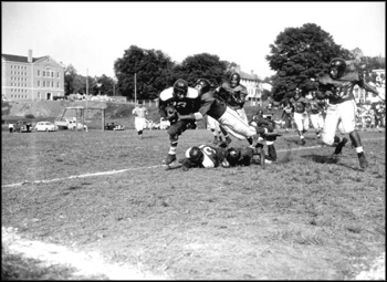 Florida A&M vs. Morris Brown football game: Tallahassee, Florida (1947)