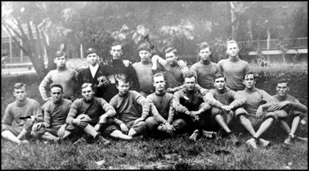 Florida Southern team portrait, 1912, Lakeland, Florida