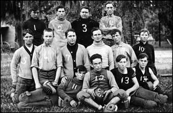 Columbia College team portrait: Lake City, Florida (ca. 1910s) 