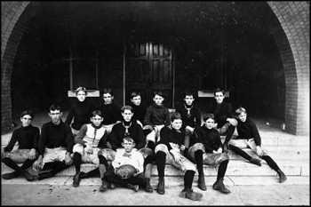 West Florida Seminary team portrait, 1899, Tallahassee, Florida