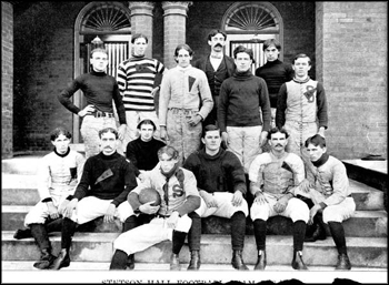 Stetson University team portrait: Deland, Florida (between 1898 and 1910)