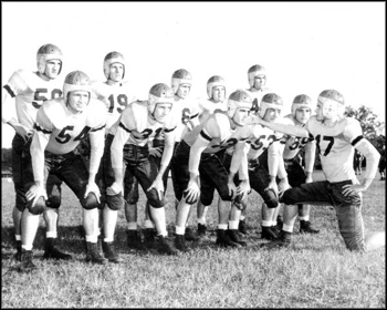F.S.U. football squad: Tallahassee, Florida (1947)