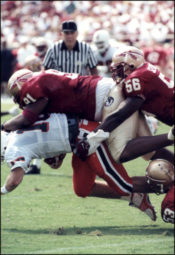Florida State versus the University of Miami football game at Doak Campbell Stadium: Tallahassee, Florida (1997)