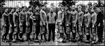 Stetson University's football team, 1907, Deland, Florida