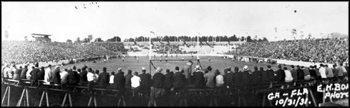 Florida-Georgia football game, Gainesville: Florida (1931)
