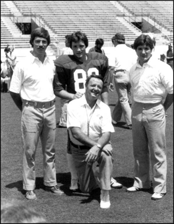 Bobby Bowden and sons: Tallahassee, Florida (1982)