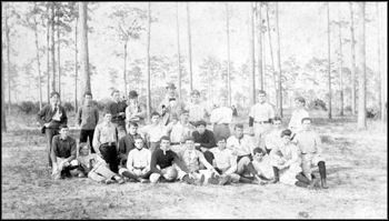 Stetson University's football team: Deland, Florida (ca. 1890s)