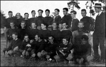 Group portrait of the University of Florida football team: Gainesville, Florida (1915 or 1916)