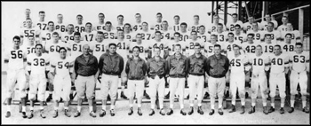 FSU team portrait: Tallahassee, Florida (1954 or 1955)