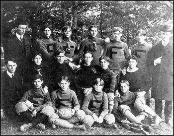 Florida State College team portrait, 1903, Tallahassee, Florida