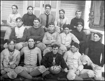 Florida Agricultural College team portrait: Lake City, Florida (1902)