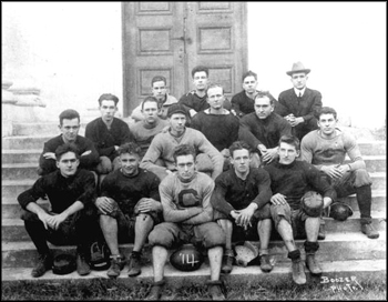 Columbia College team portrait, 1914, Lake City, Florida