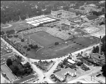 Football stadium at the University of Florida: Gainesville, Florida (1948)