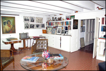 LeRoy Collins' office in the basement of The Grove (2010)