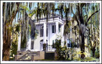 Home of the &quot;Tallahassee Girl&quot; (ca. 1900)