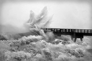 Hurricane Ivan's land fall: Fort Walton Beach (2004)