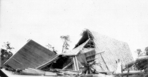 1926 hurricane damage to Knights Chapel