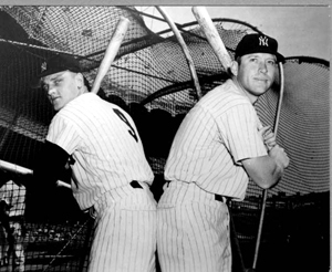 Roger Maris and Mickey Mantle (1962)