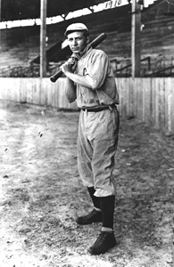 Julius Leo Mack, Jr. in his baseball uniform: Jacksonville, Florida (1910)