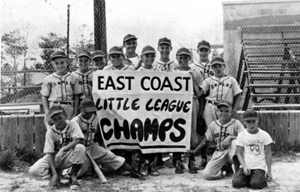 Pompano Little League team: Pompano, Florida (1948)