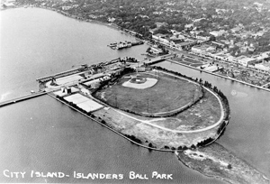 City Island and Islanders Ball Park: Daytona Beach, Florida (193-)