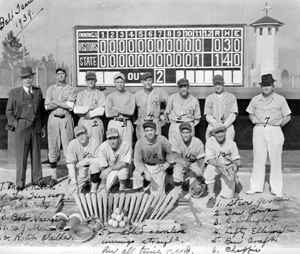 Raiford Prison baseball team: Raiford, Florida (1939)