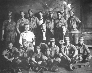 Oak Hall baseball team: Gainesville, Florida (1903)