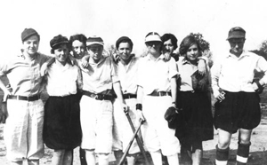 Florida State College for Women's baseball team: Tallahassee, Florida (1928)