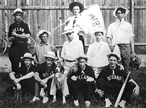 Deland baseball team: Deland, Florida (ca.1905)