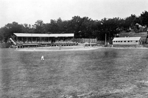 Baseball game at Centennial Field: Tallahassee, Florida (ca.1935)