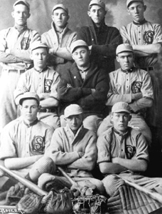 Columbia High School baseball team: Lake City, Florida (1915)
