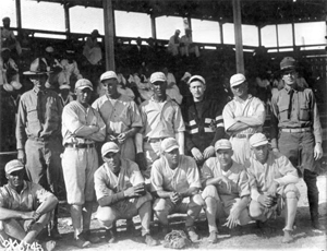 Army baseball team: Key West, Florida (1918)