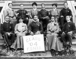 Florida State Normal and Industrial School class of 1904 portrait: Tallahassee, Florida