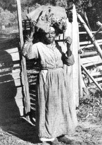 Charity Stewart, former slave (1937)