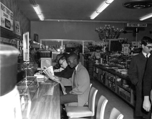Sit-in at Woolworth's lunch counter: Tallahassee, Florida