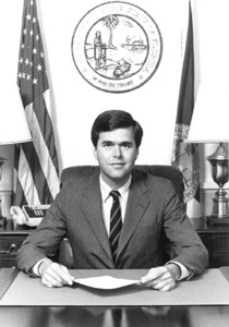Jeb Bush as Secretary of Commerce (1987)
