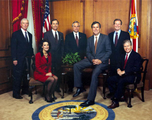 Governor Bush and the Cabinet: Tallahassee, Florida (1999)